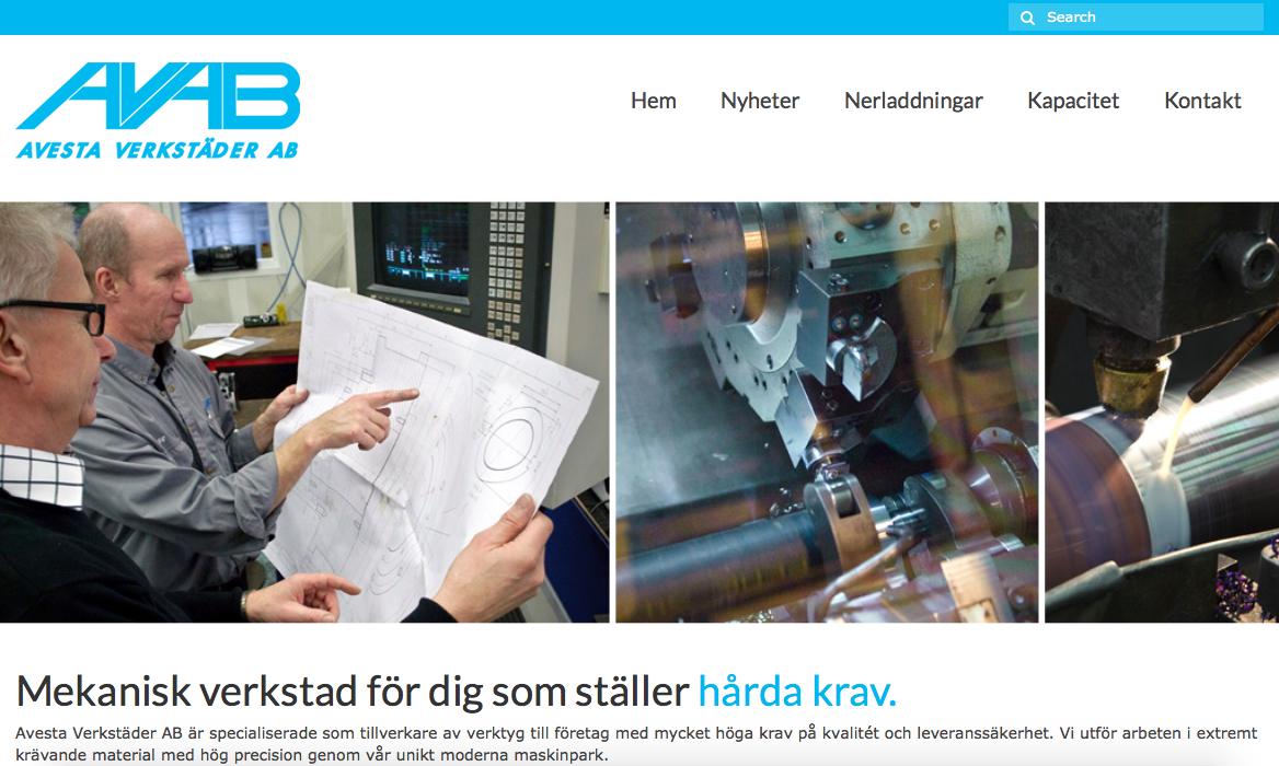Ny hemsida på avab.info
